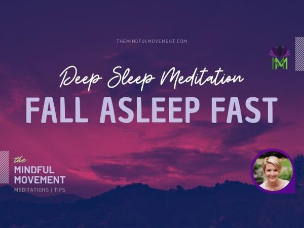 Fall Asleep Fast Deep Sleep Meditation for Insomnia
