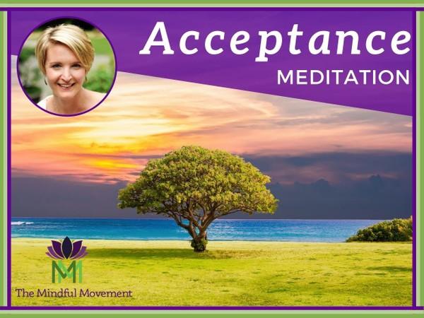 Practice Acceptance to Release Resistance / Mindfulness Meditation