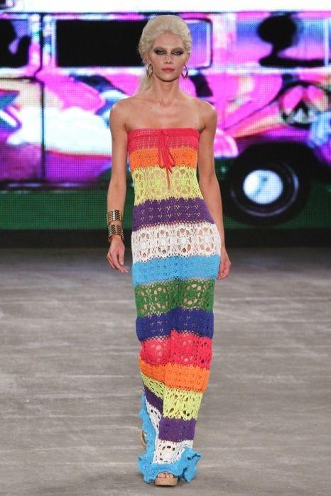 crochet maxi dress pattern diagrams pdf