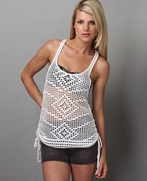crochet top tunic pattern diagrams pdf