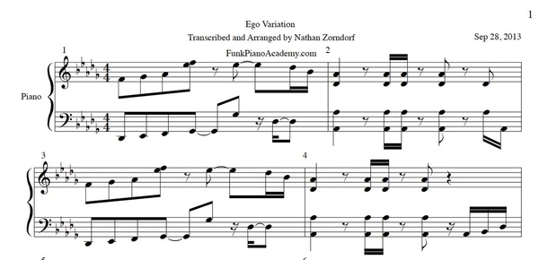 Beyonce - Ego Sheet Music