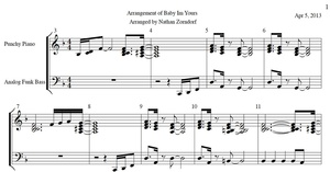 Breakbot - Baby Im Yours PDF Sheet Music