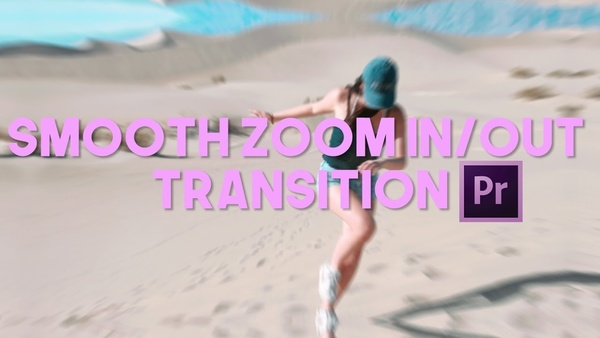 Smooth Zoom Transition Preset for Premiere Pro CC 2017