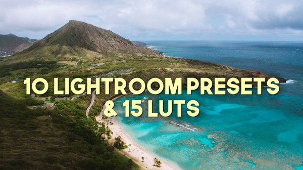 FVS 15 Travel LUTs + 10 Lightroom Presets COMBO