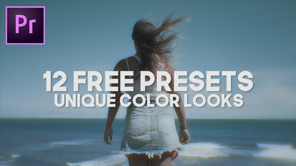 12 PRESETS - UNIQUE COLOR LOOKS (Premiere Pro)