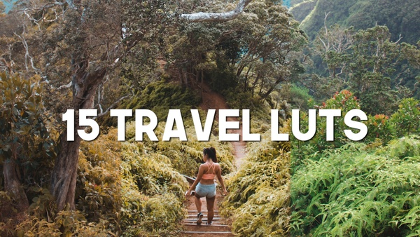 SUMMER TRAVEL LUT PACK! ( 15 LUTS)