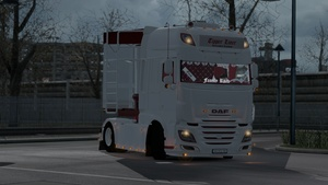 DAF E6 Tipper Liner