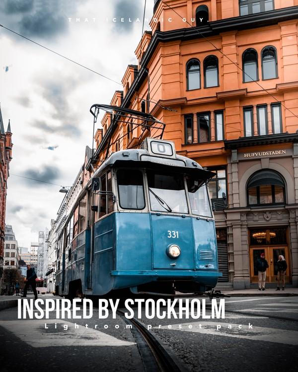 Inspired by Stockholm - Lightroom Preset Pack
