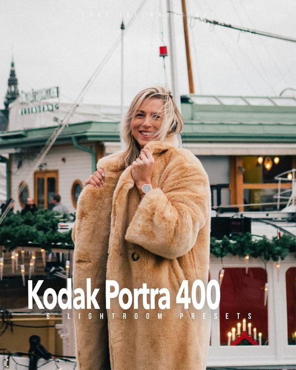 Lightroom Preset Kodak Portra 400   Film Look Preset Pack