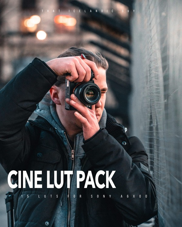 15 CINE LUTS FOR SONY   My Cine4 Lut Pack