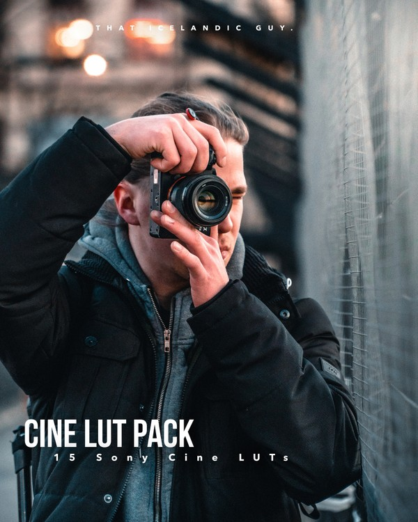 15 CINE LUTS FOR SONY | My Cine4 Lut Pack