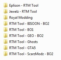 9 RTM Tools - BO2, BO1, GTA5, Ghosts