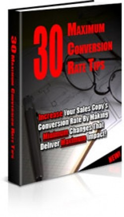 30 Maximum Conversion Rate Tips