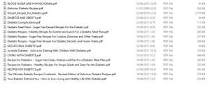 Diabetes Ebook With PLR