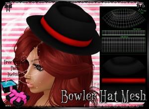 💎 Bowler Hat Mesh