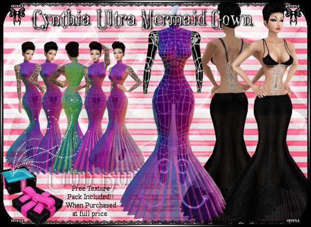 💎 Cynthia Ultra Mermaid Gown