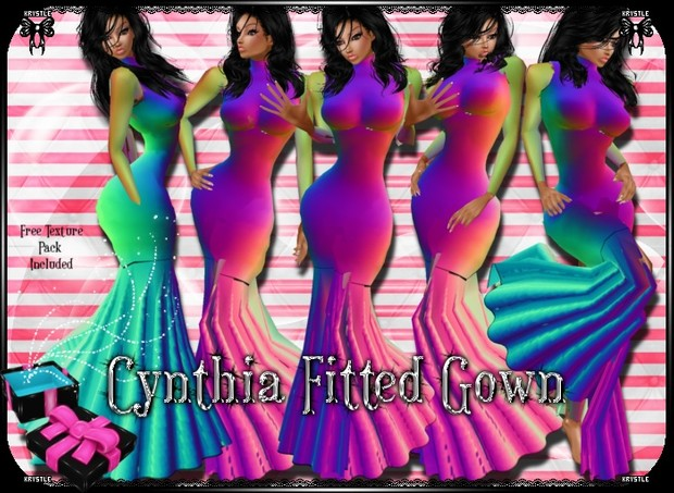 💎Cynthia Fitted Gown