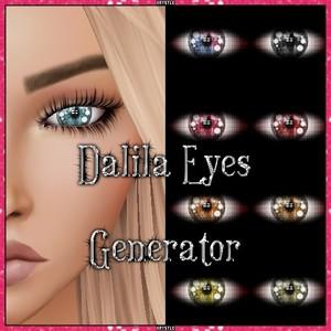 💎 Dalila Eyes Generator