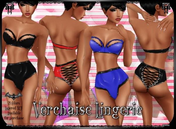Verchaise Lingerie PNG Edition