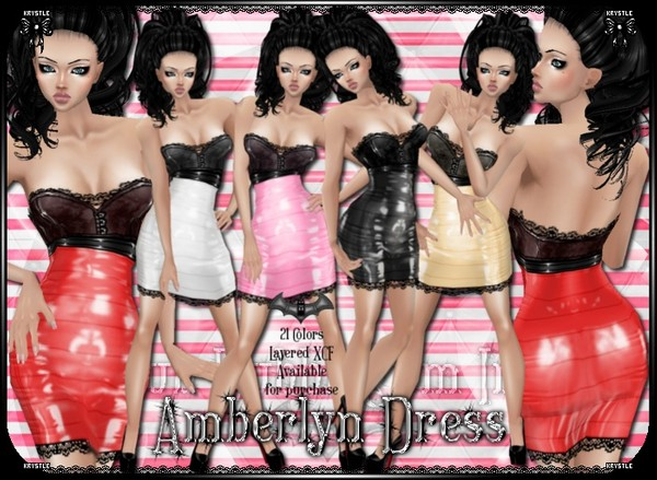 Amberlynn Dress PNG Edition