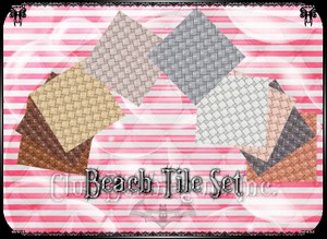 💎 Beach Tile Set