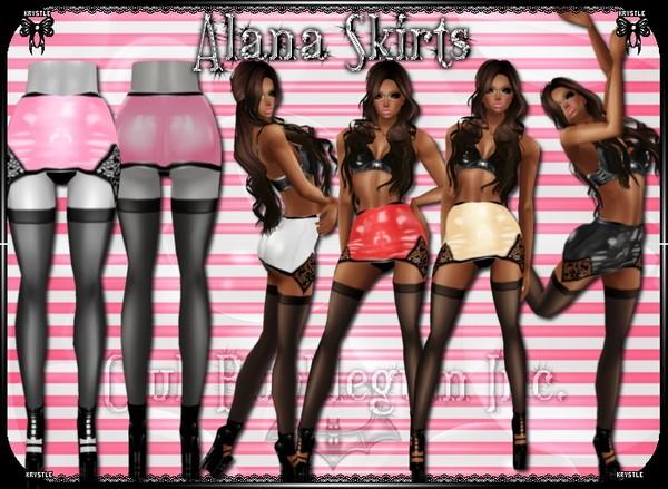 💎 Alana Skirts PNG Edition
