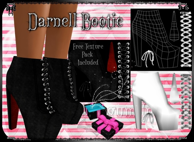 💎 Darnell Bootie Mesh