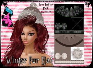 💎 Winter Fur Hat [mesh]