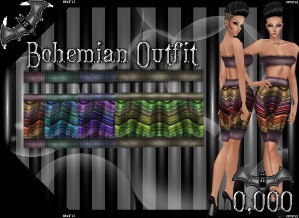 💎 [Freebie] Bohemian Outfit