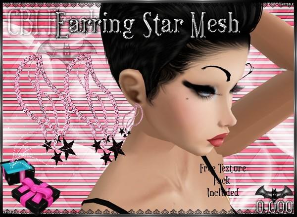 💎 Earring Star Mesh