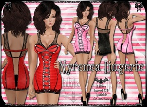 Nyrenea Lingerie PNG Edition