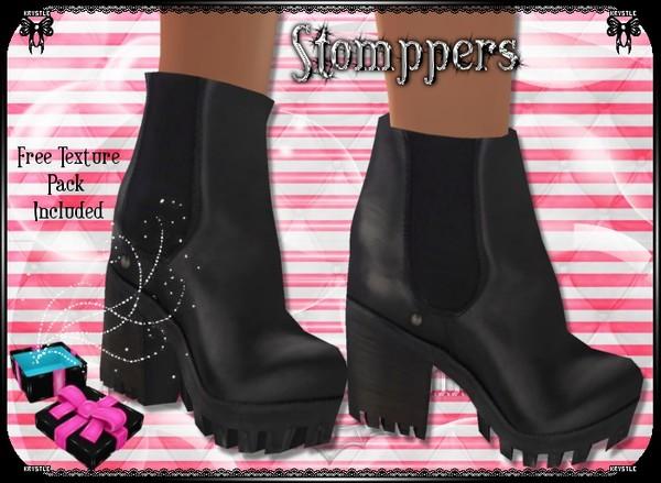💎 Stompper Boots Mesh