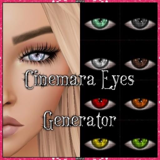 💎 Cinemara Eyes Generator
