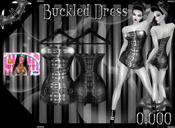 💎 [Freebie] Buckle Up Corset Dress
