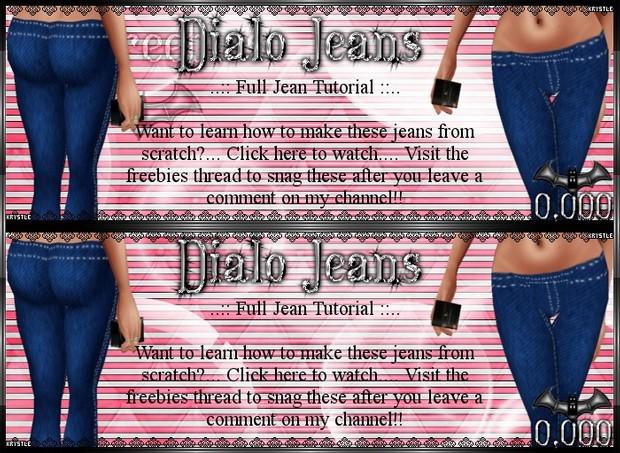 💎 Dialo Jeans