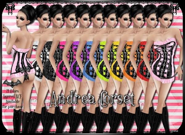 💎 Andrea Corset PNG Edition