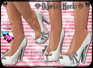 💎 Caprice Peepers [Shoe Mesh]