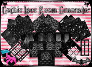 💎 Gothic Lace Room Generator