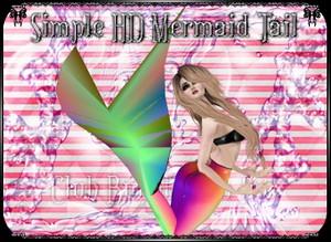 Simple Mermaid Tail Mesh