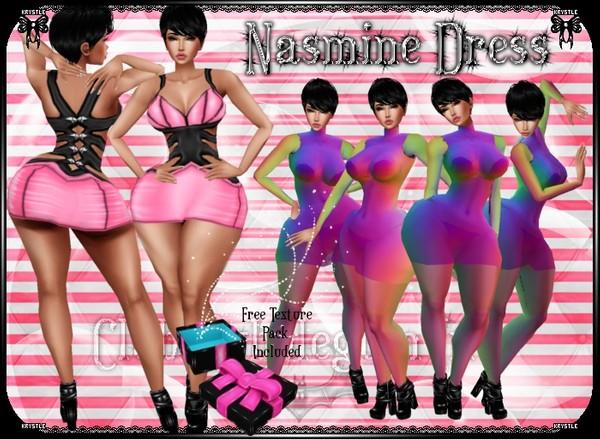 💎 Nasmine Demi-Dress Mesh