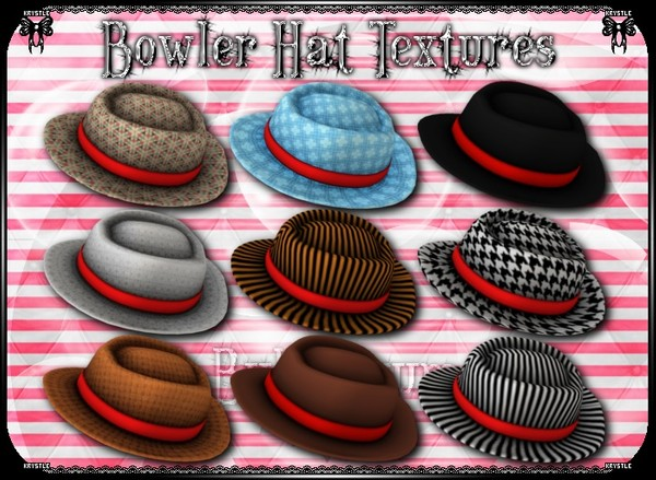 💎 Bowler Hat Texture Freebie!!