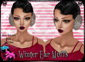 💎 Winter Fur Ear Muffs [mesh]