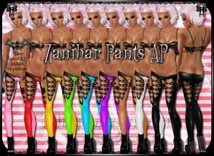 Zanibar Pants PNG Edition