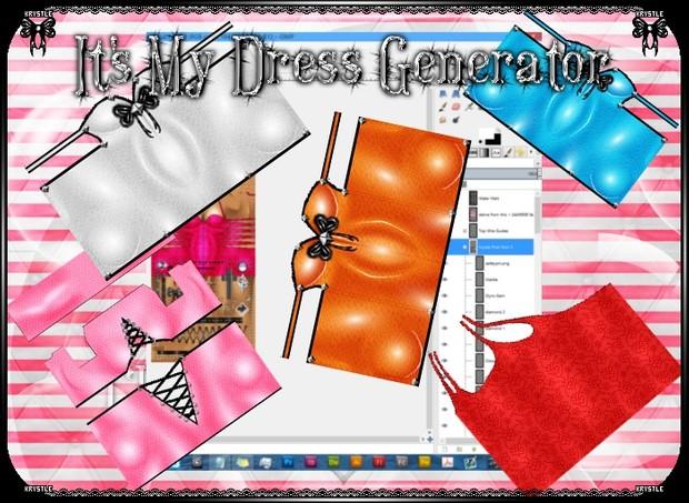 Dress Generator PSD Edition