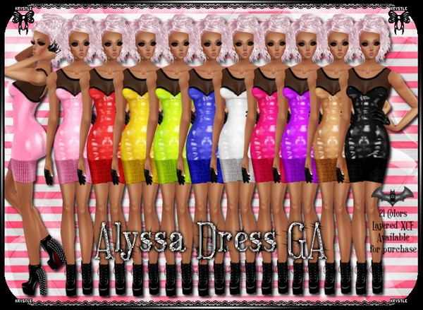 💎 Alyssa Dress PNG Edition