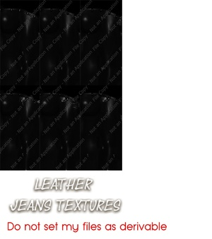Leather Jeans textures
