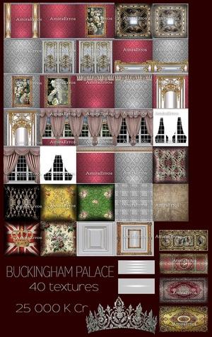 BUCKINGHAM PALACE TEXTURES