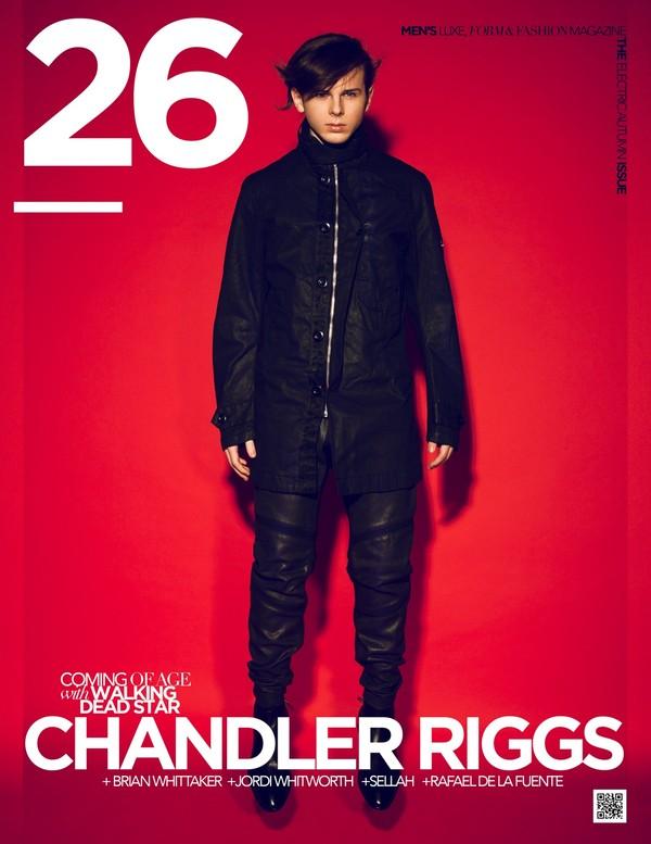 26 Magazine Autumn Issue Chandler Riggs