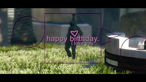 Happy Birthday (with Clips, Cinematics, C4D and Overlays)