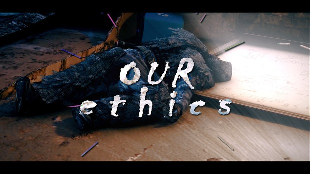 Our Ethics (with Cinematics & Cinema4D Files)